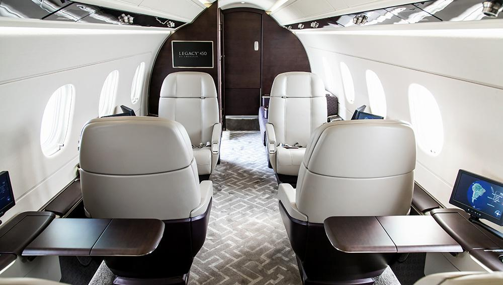 Image #1 of our  Embraer Legacy 450   () In Miami Fort Lauderdale Palm Beach South Florida