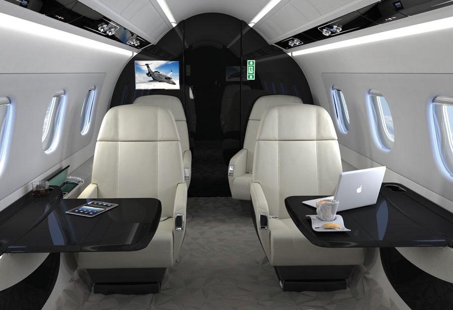 Image #2 of our  Embraer Legacy 450   () In Miami Fort Lauderdale Palm Beach South Florida