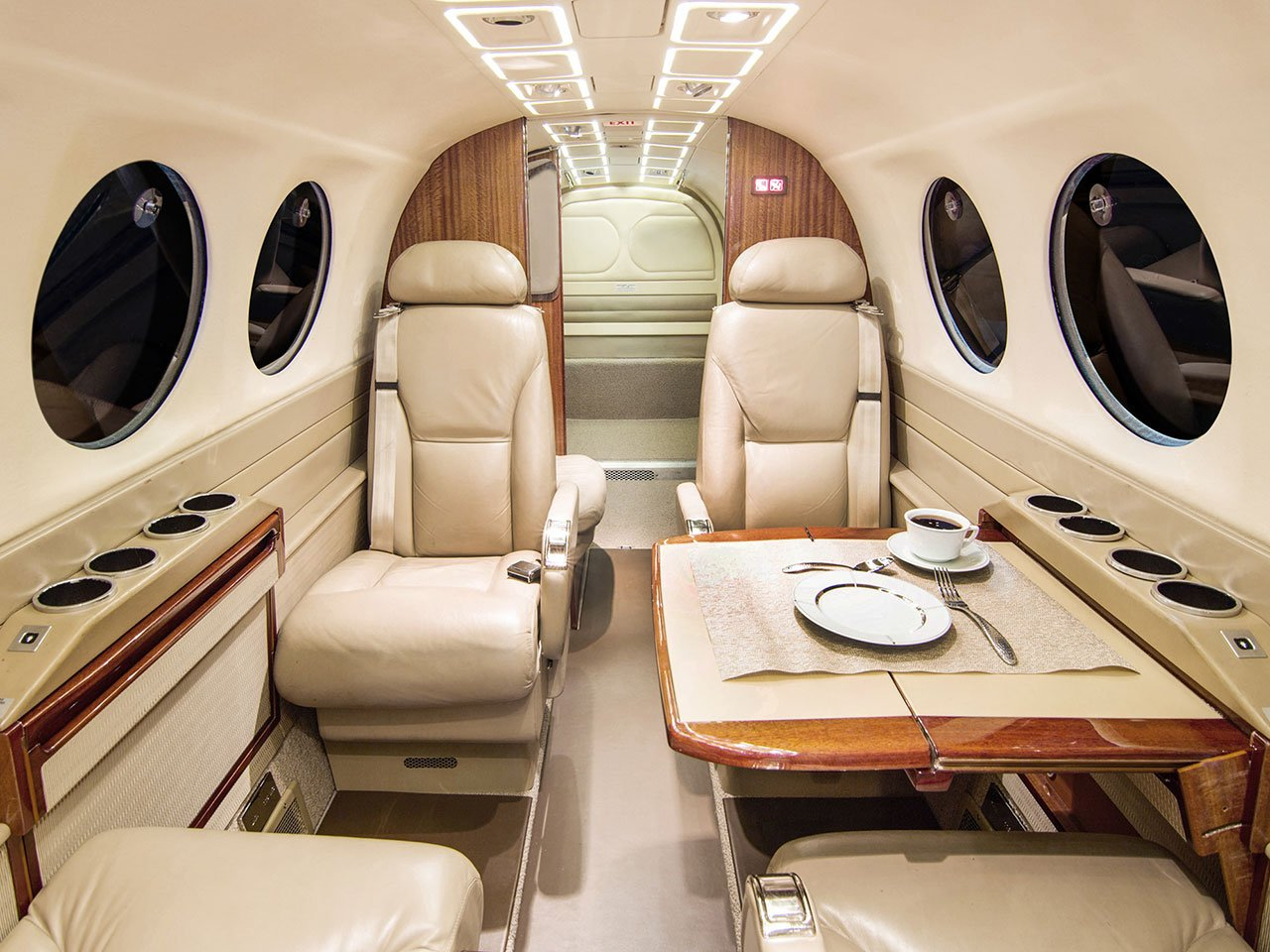 Image #2 of our  Beech King Air 350   () In Miami Fort Lauderdale Palm Beach South Florida