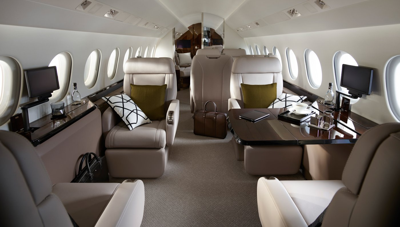 Image #1 of our  Falcon 900LX/EX   () In Miami Fort Lauderdale Palm Beach South Florida