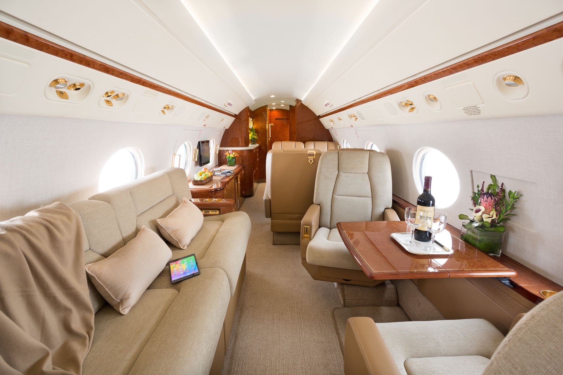 Image #2 of our  Gulfstream G450   () In Miami Fort Lauderdale Palm Beach South Florida