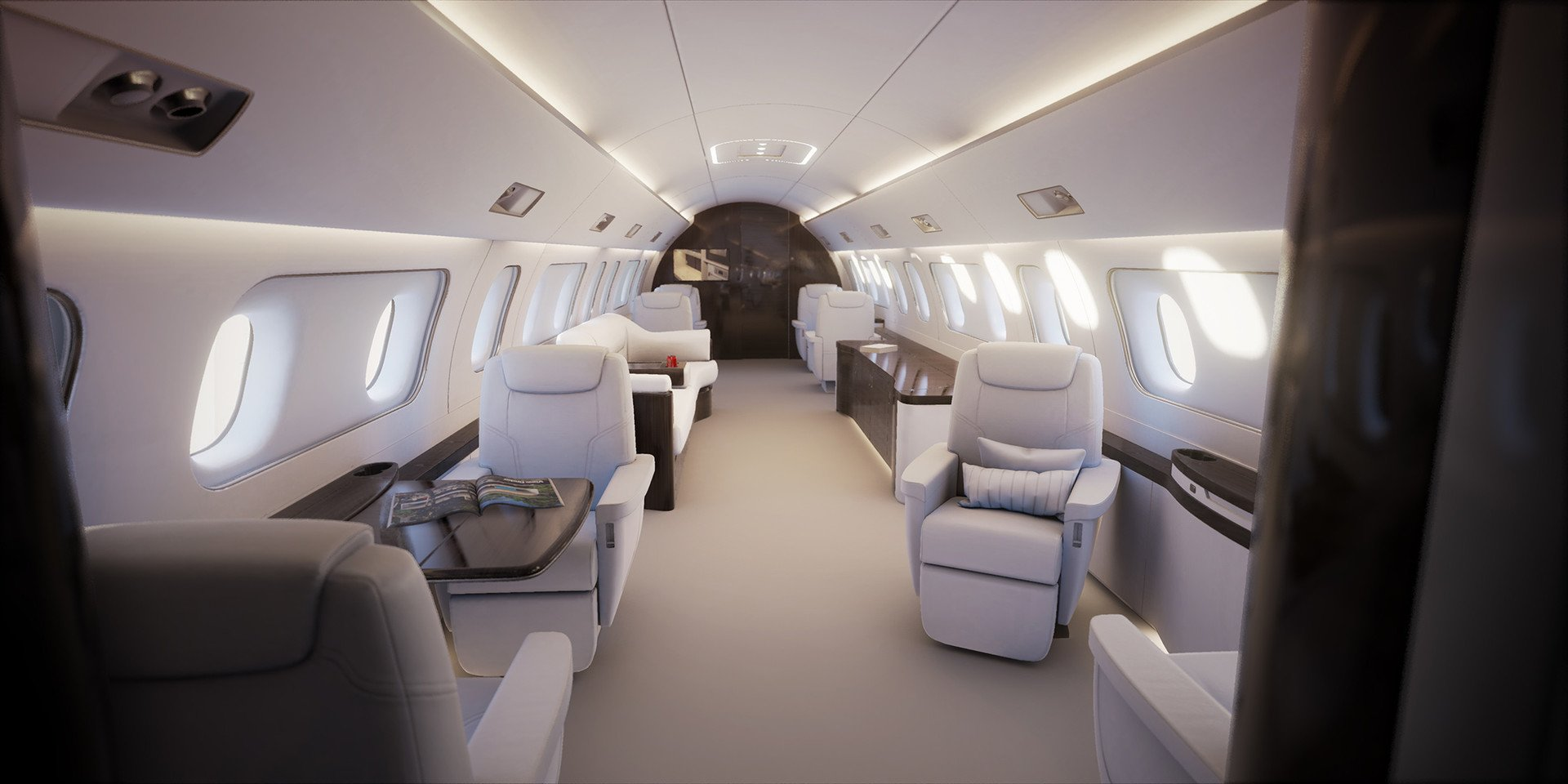 Image #1 of our  Embraer Lineage 1000   () In Miami Fort Lauderdale Palm Beach South Florida