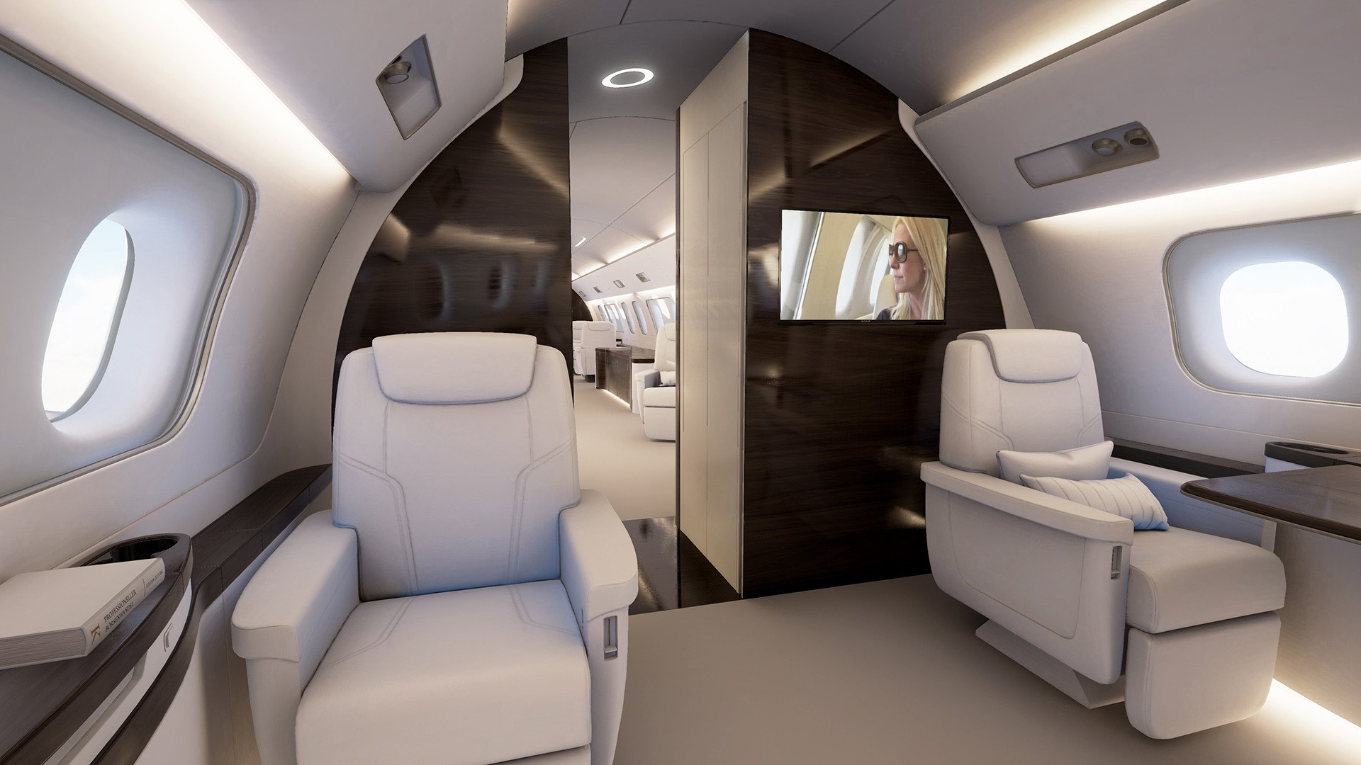 Image #2 of our  Embraer Lineage 1000   () In Miami Fort Lauderdale Palm Beach South Florida