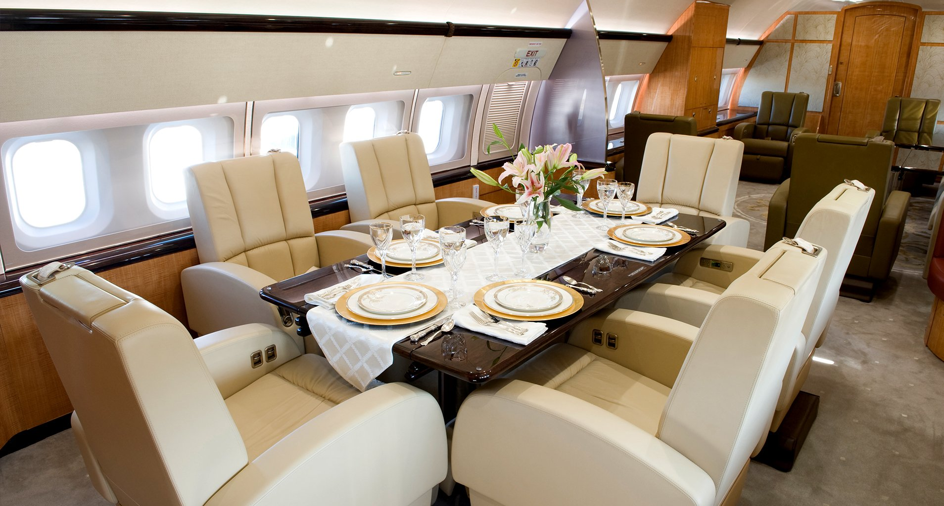 Image #1 of our  Boeing Business Jet   () In Miami Fort Lauderdale Palm Beach South Florida