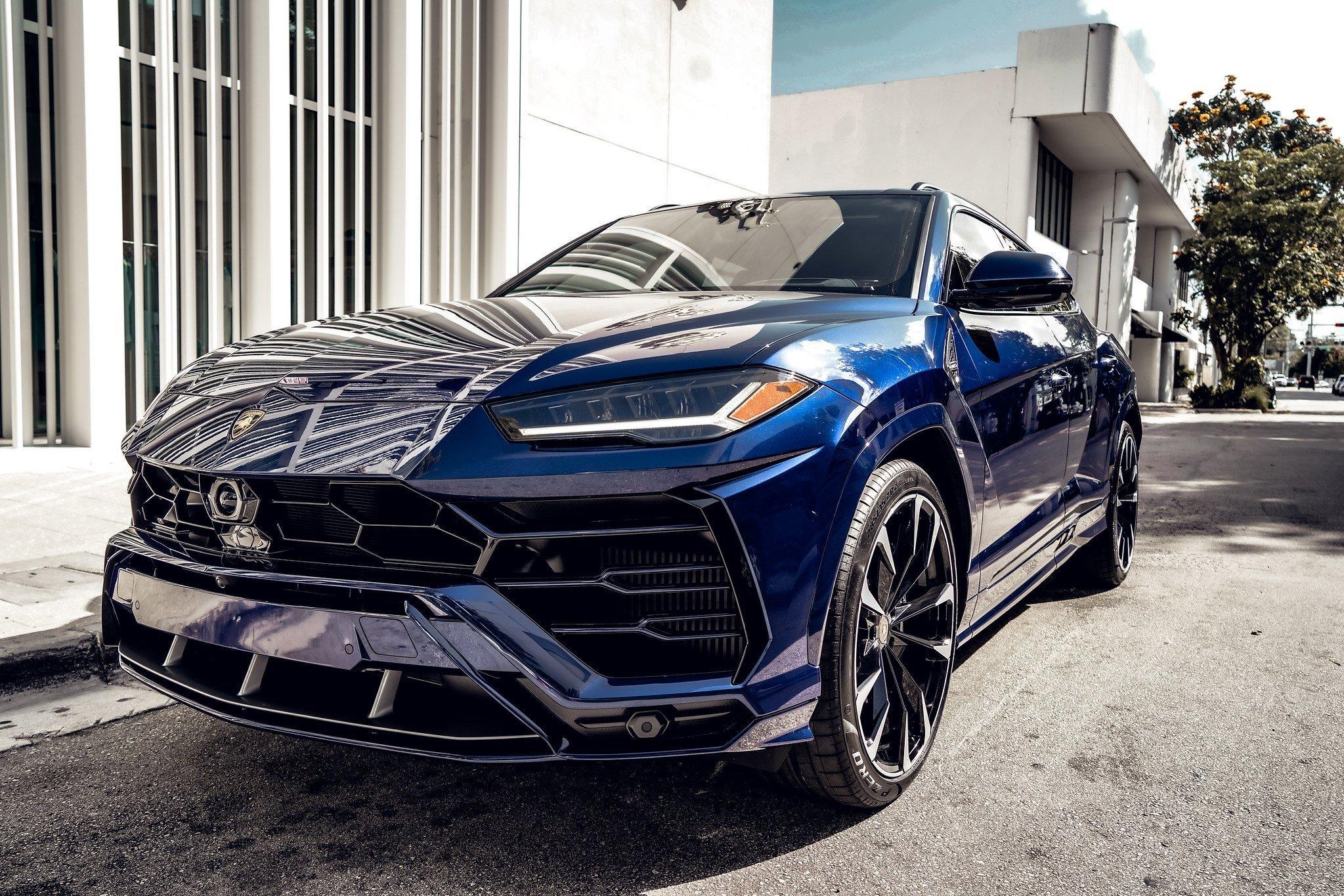 Image #2 of our  2021 Lamborghini Urus - Dark Blue    In Miami Fort Lauderdale Palm Beach South Florida