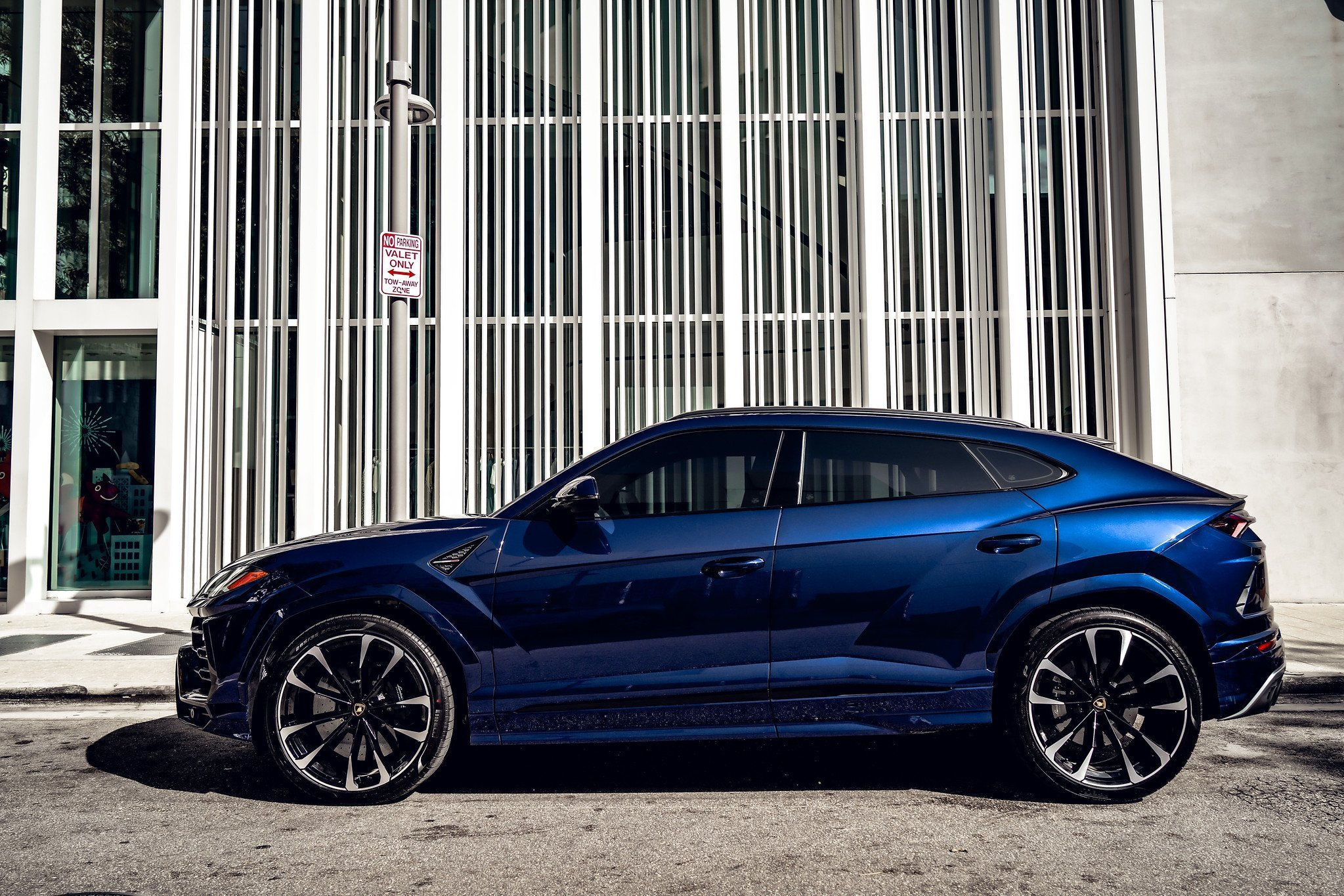 Image #7 of our  2021 Lamborghini Urus - Dark Blue    In Miami Fort Lauderdale Palm Beach South Florida