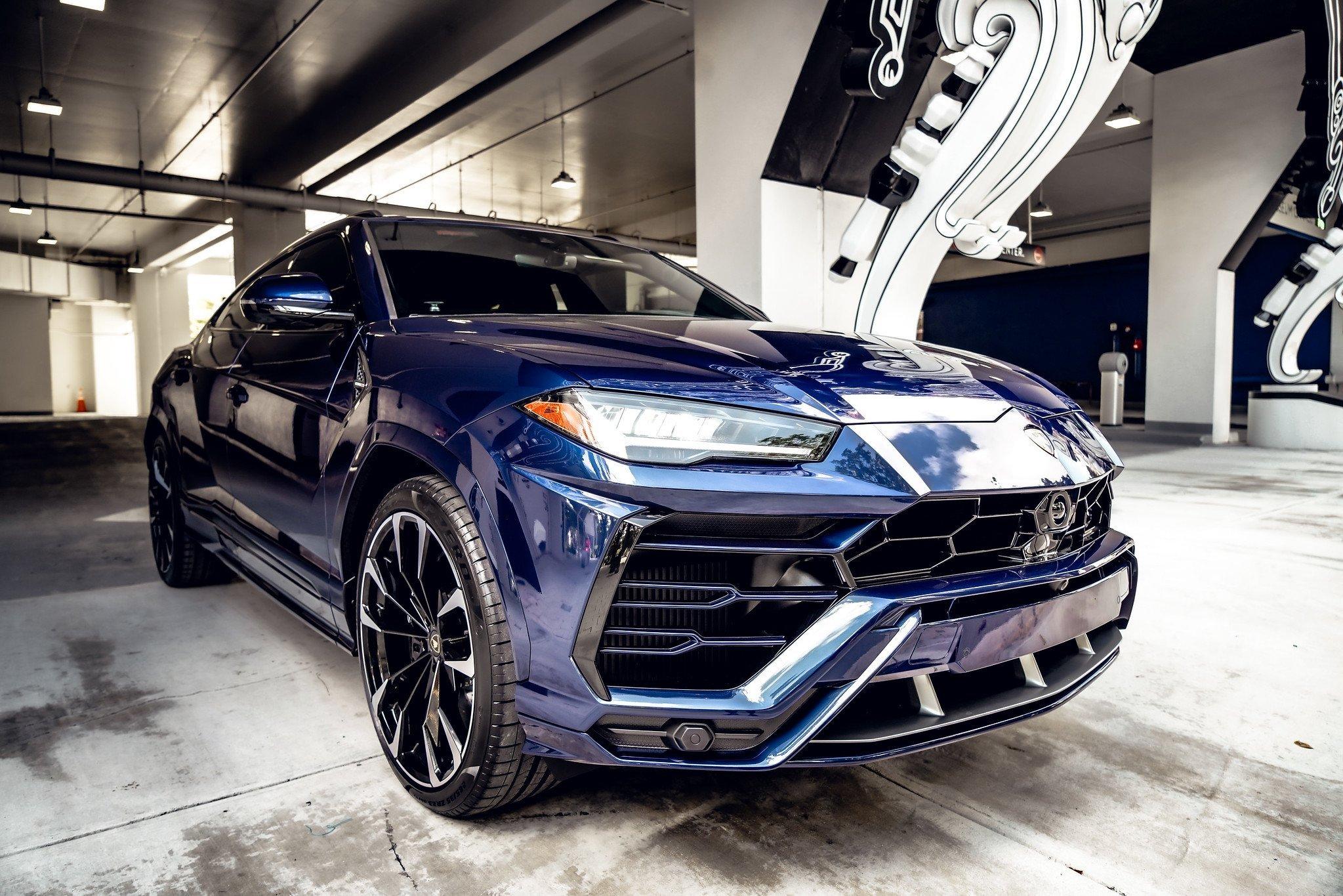 Image #11 of our  2021 Lamborghini Urus - Dark Blue    In Miami Fort Lauderdale Palm Beach South Florida