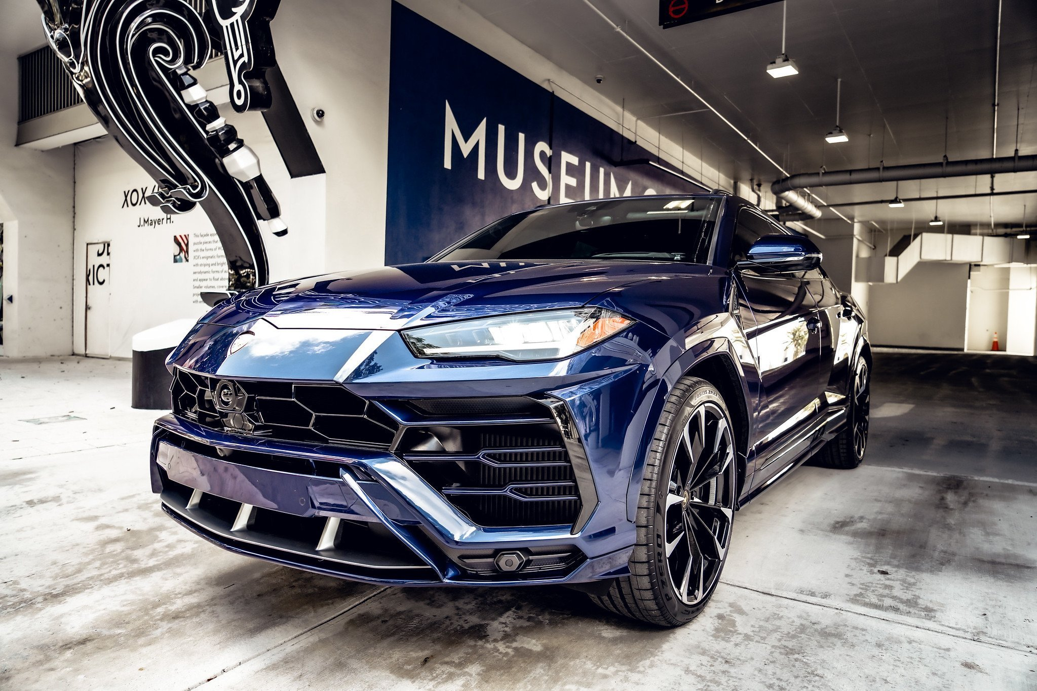 Image #12 of our  2021 Lamborghini Urus - Dark Blue    In Miami Fort Lauderdale Palm Beach South Florida