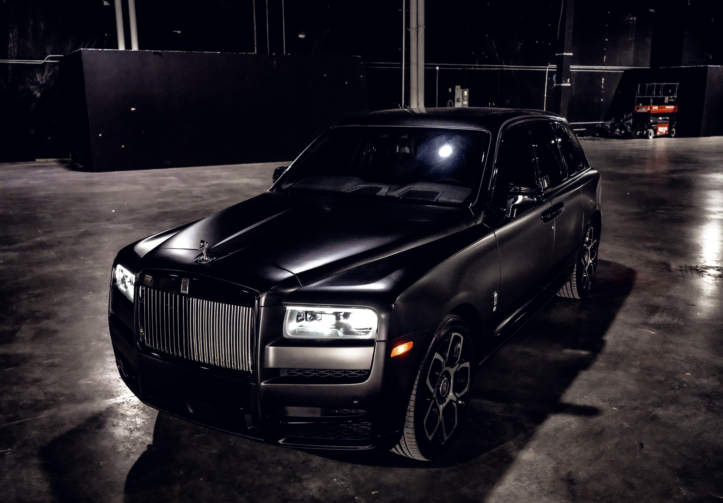 Image #0 of our  Rolls Royce Cullinan (Flat Black)    In Miami Fort Lauderdale Palm Beach South Florida