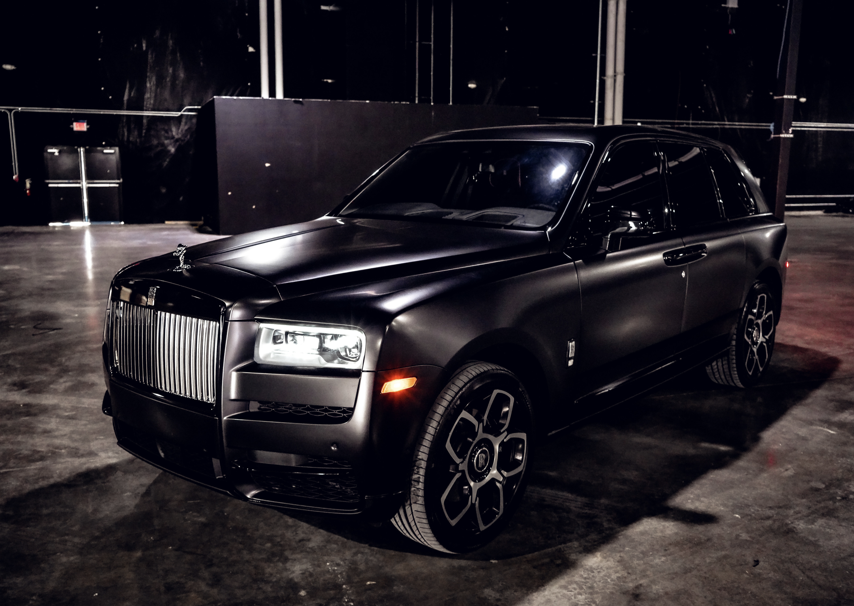 Image #1 of our  Rolls Royce Cullinan (Flat Black)    In Miami Fort Lauderdale Palm Beach South Florida