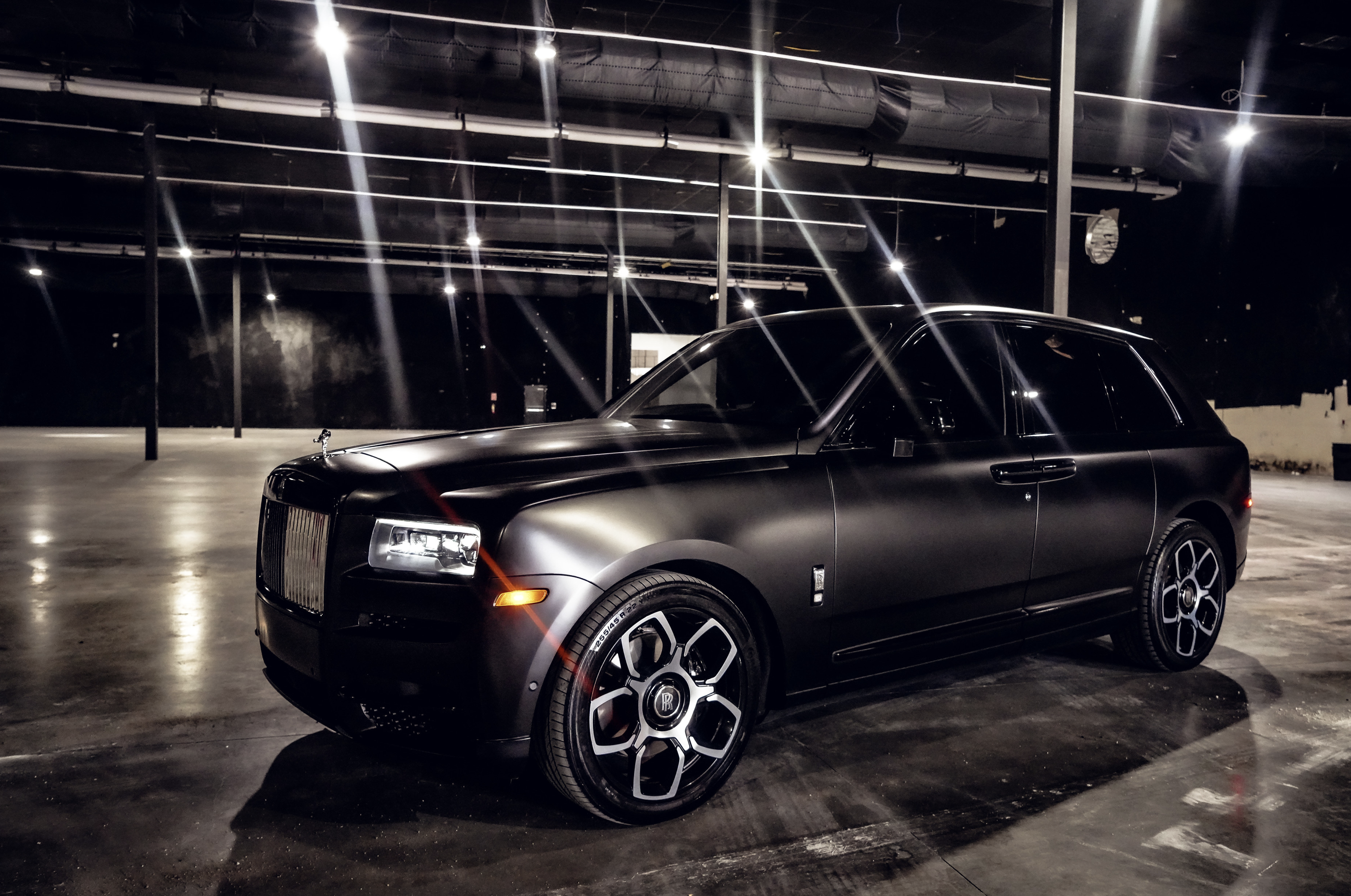Image #2 of our  Rolls Royce Cullinan (Flat Black)    In Miami Fort Lauderdale Palm Beach South Florida