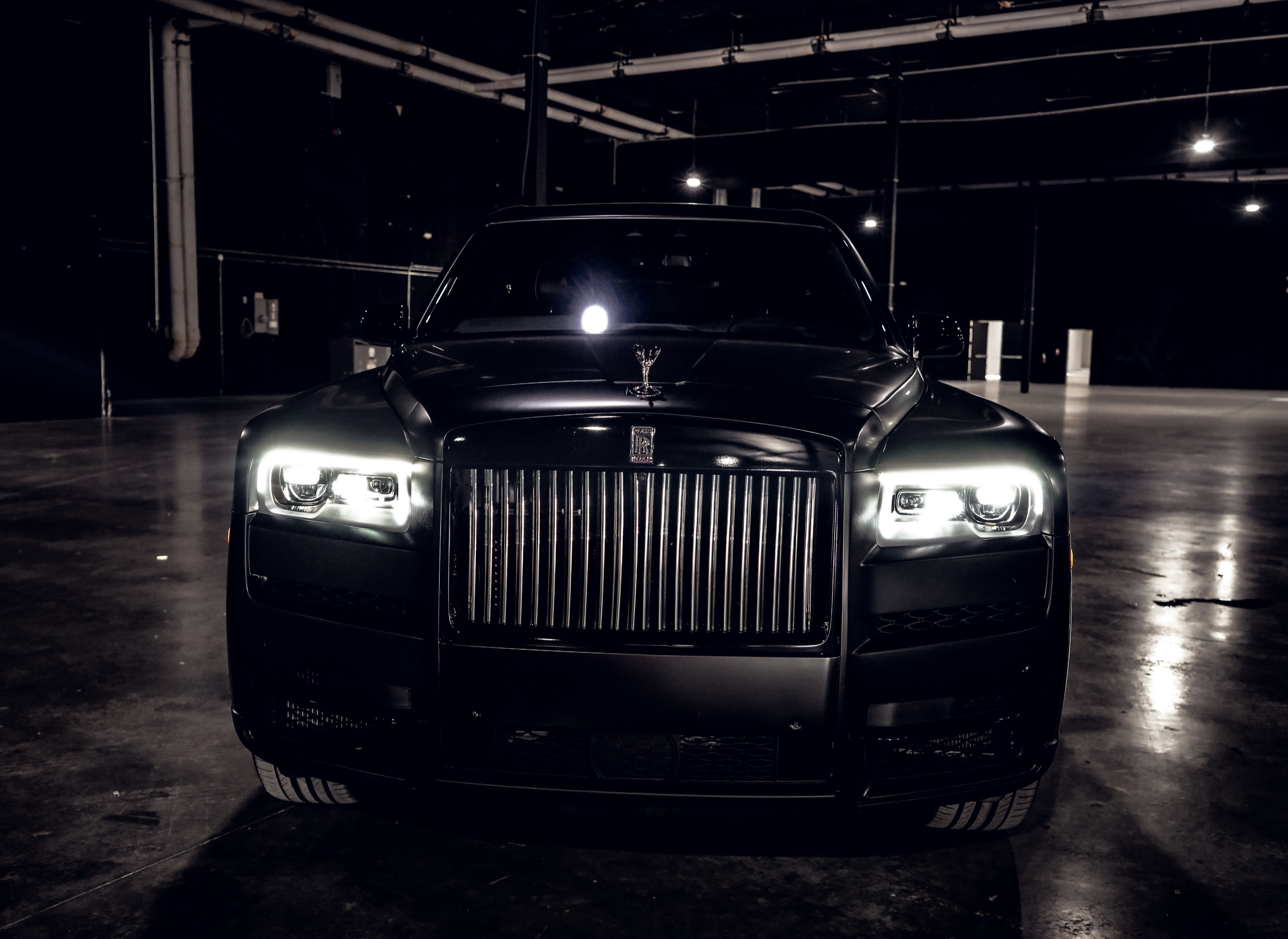 Image #3 of our  Rolls Royce Cullinan (Flat Black)    In Miami Fort Lauderdale Palm Beach South Florida