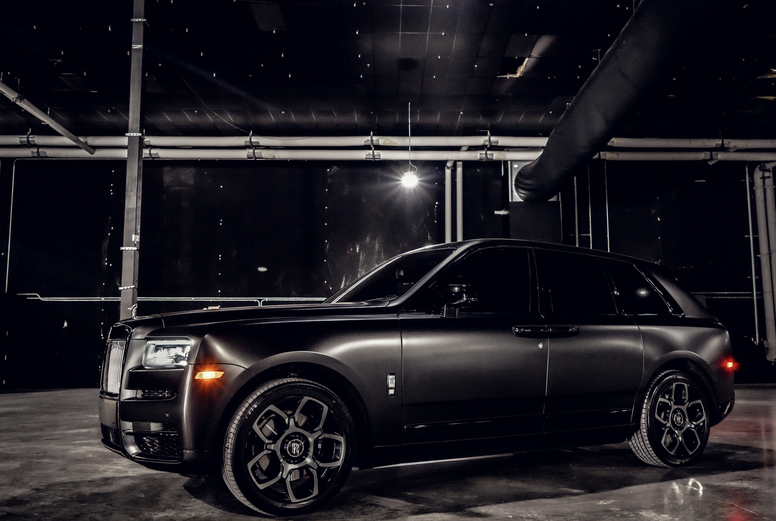 Image #5 of our  Rolls Royce Cullinan (Flat Black)    In Miami Fort Lauderdale Palm Beach South Florida