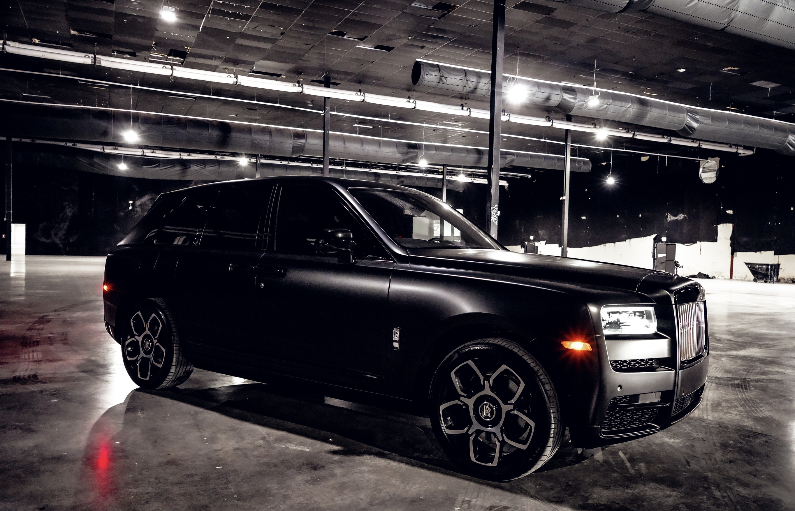 Image #6 of our  Rolls Royce Cullinan (Flat Black)    In Miami Fort Lauderdale Palm Beach South Florida
