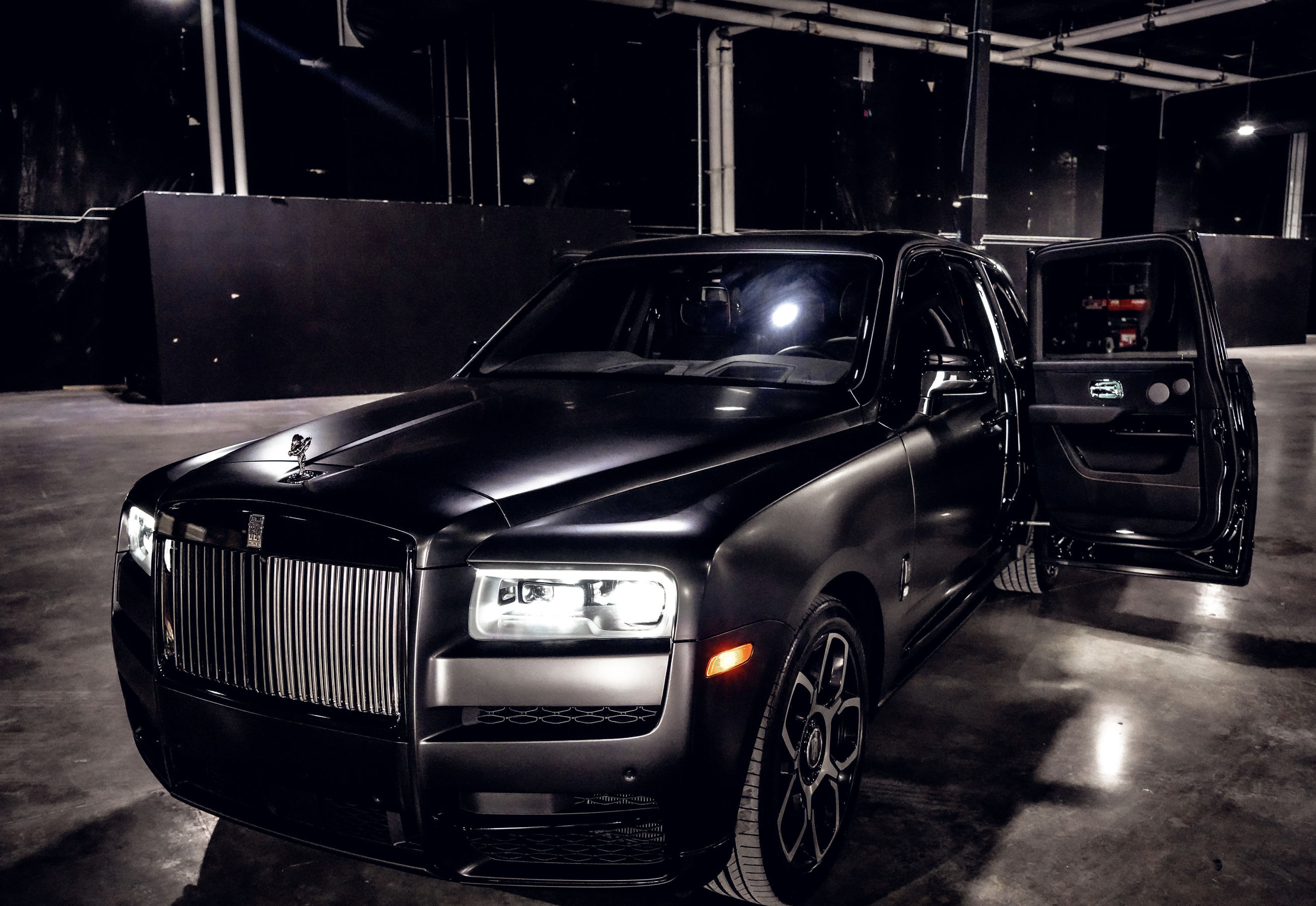Image #8 of our  Rolls Royce Cullinan (Flat Black)    In Miami Fort Lauderdale Palm Beach South Florida