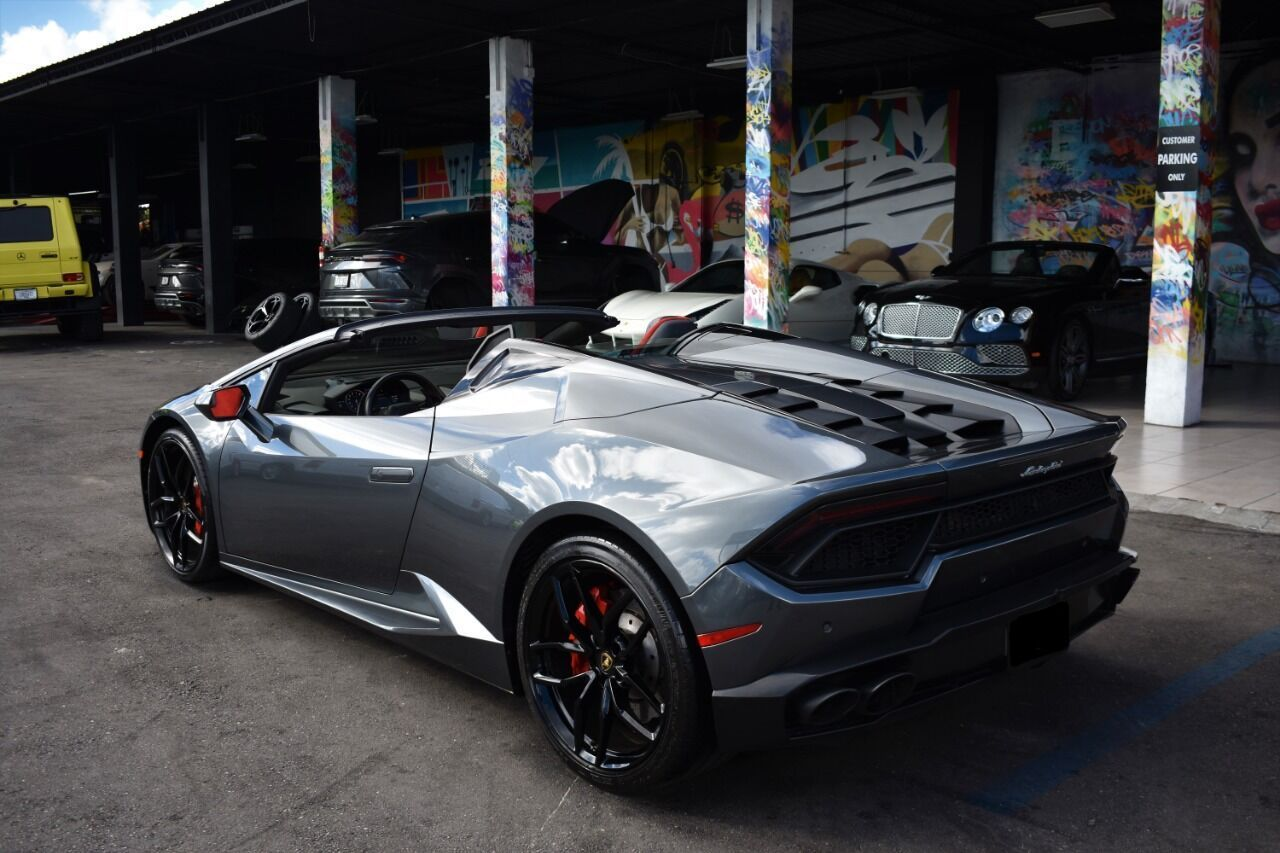 Image #10 of our  Lamborghini Huracan Spyder - Gray    In Miami Fort Lauderdale Palm Beach South Florida