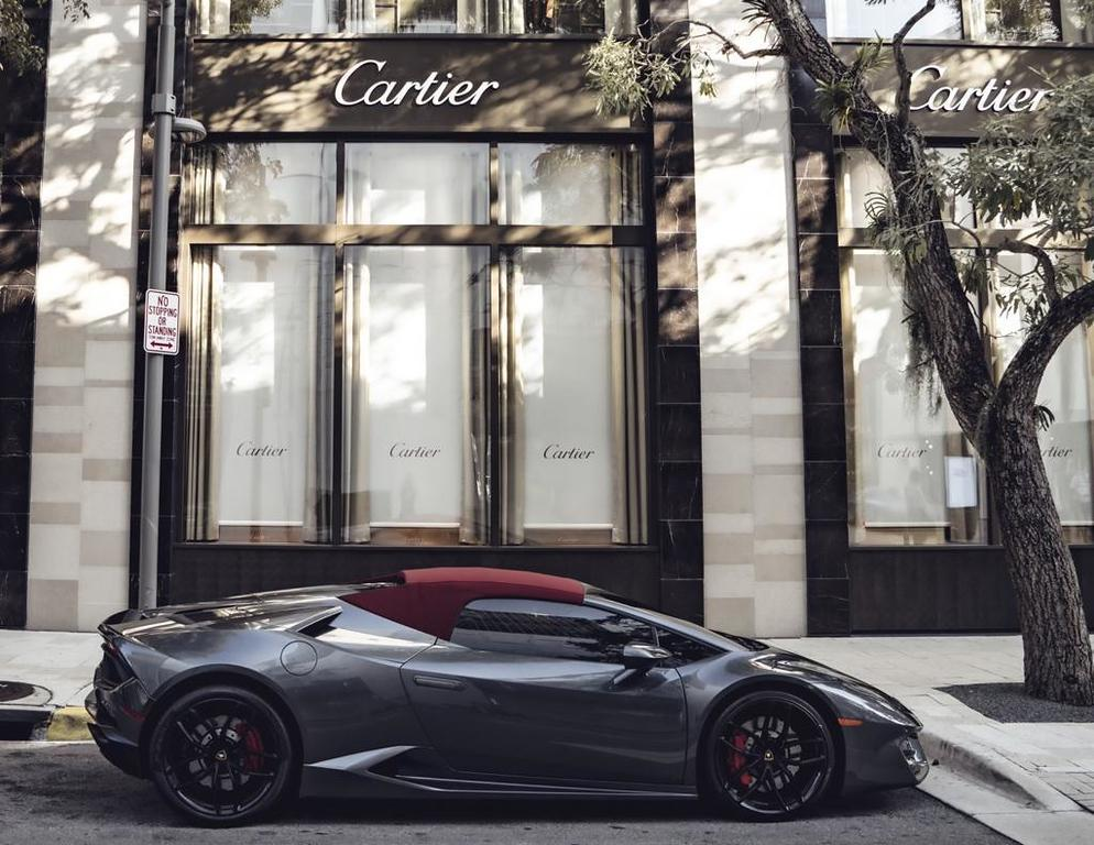 Image #14 of our  Lamborghini Huracan Spyder - Gray    In Miami Fort Lauderdale Palm Beach South Florida