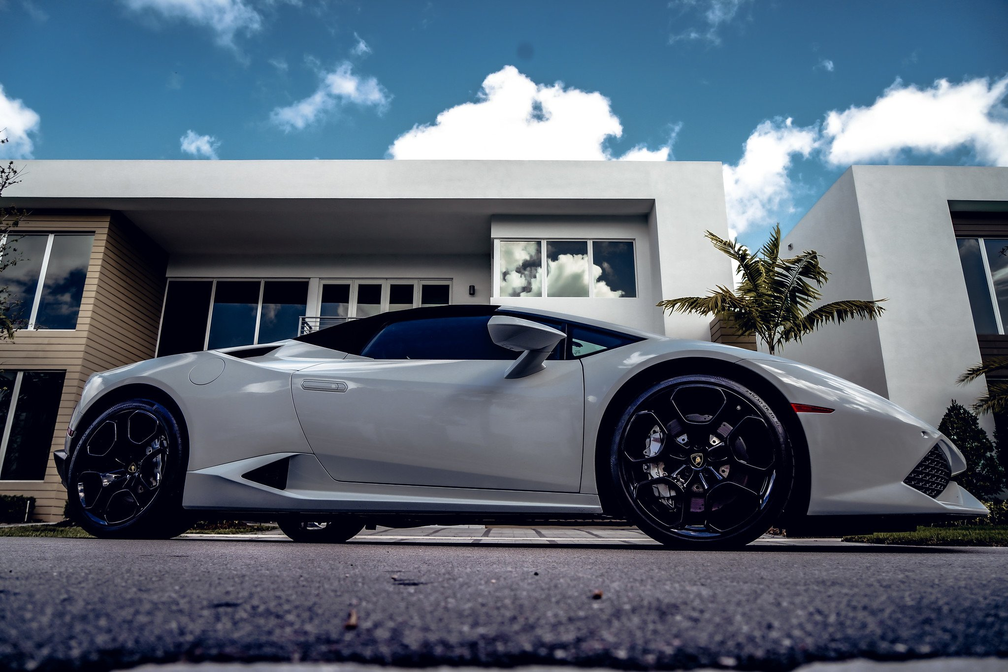 Image #6 of our  Lamborghini Huracan - White    In Miami Fort Lauderdale Palm Beach South Florida