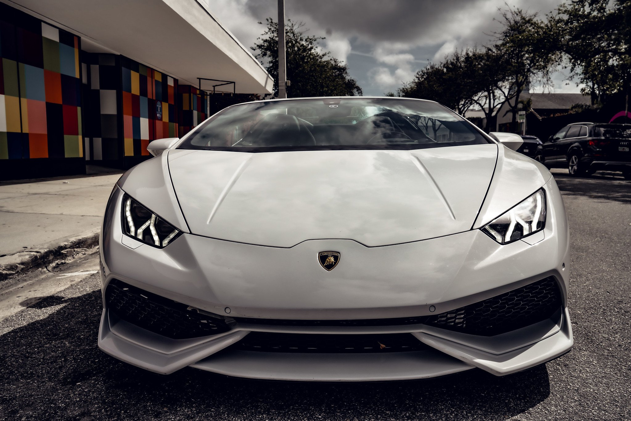 Image #10 of our  Lamborghini Huracan - White    In Miami Fort Lauderdale Palm Beach South Florida