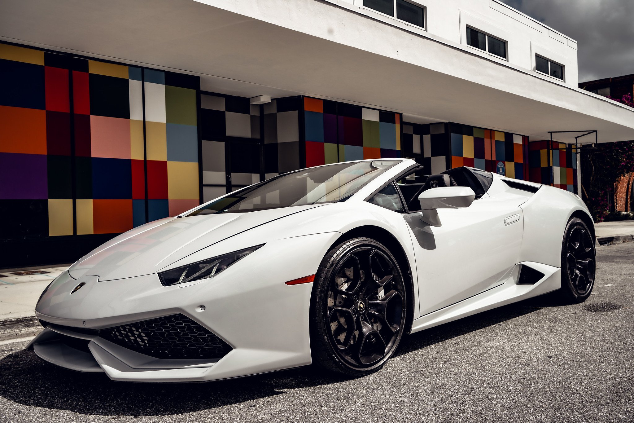 Image #12 of our  Lamborghini Huracan - White    In Miami Fort Lauderdale Palm Beach South Florida
