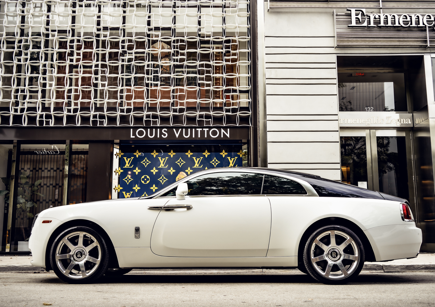 Image #1 of our  Rolls Royce Wraith    In Miami Fort Lauderdale Palm Beach South Florida