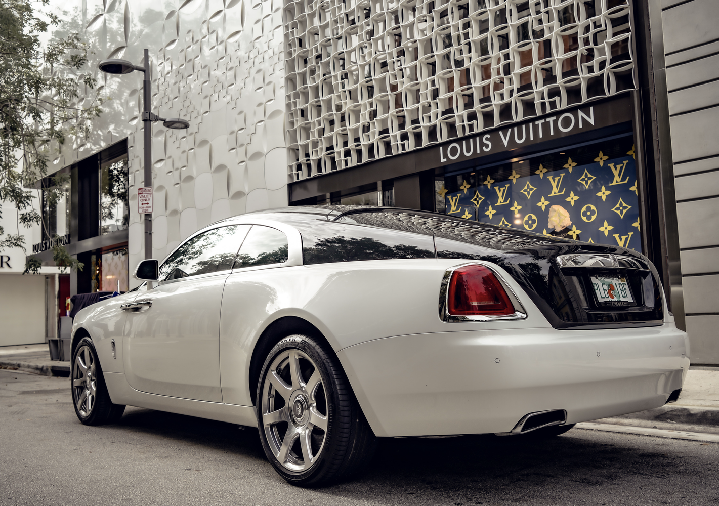 Image #2 of our  Rolls Royce Wraith    In Miami Fort Lauderdale Palm Beach South Florida