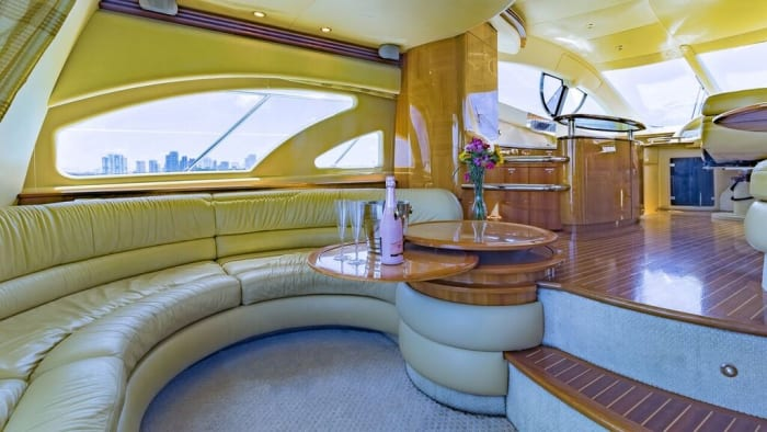 Image #9 of our  55′ AZIMUT   () In Miami Fort Lauderdale Palm Beach South Florida