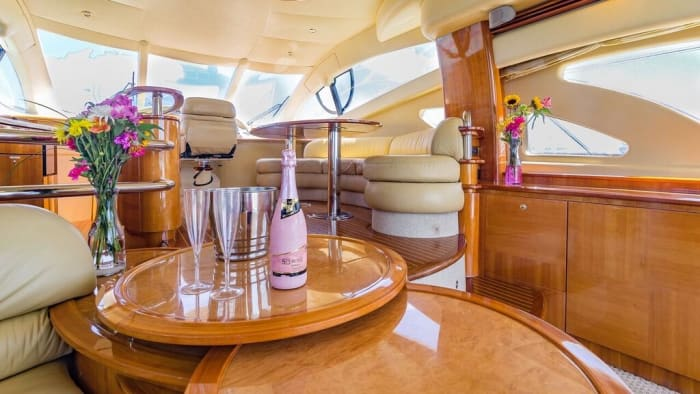 Image #11 of our  55′ AZIMUT   () In Miami Fort Lauderdale Palm Beach South Florida