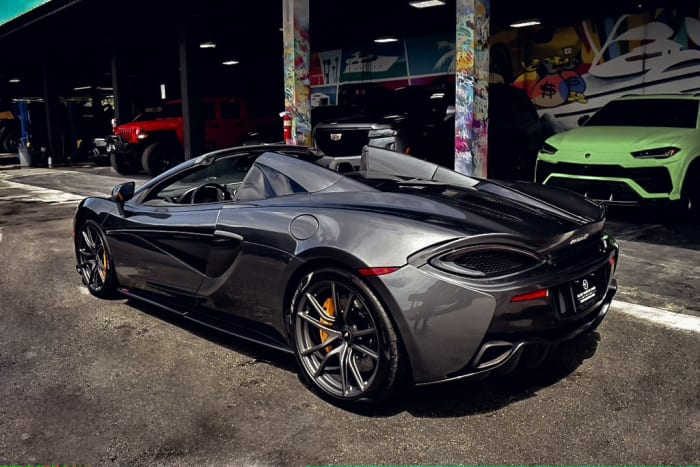 Image #5 of our  2020 MCLAREN 570S   () In Miami Fort Lauderdale Palm Beach South Florida