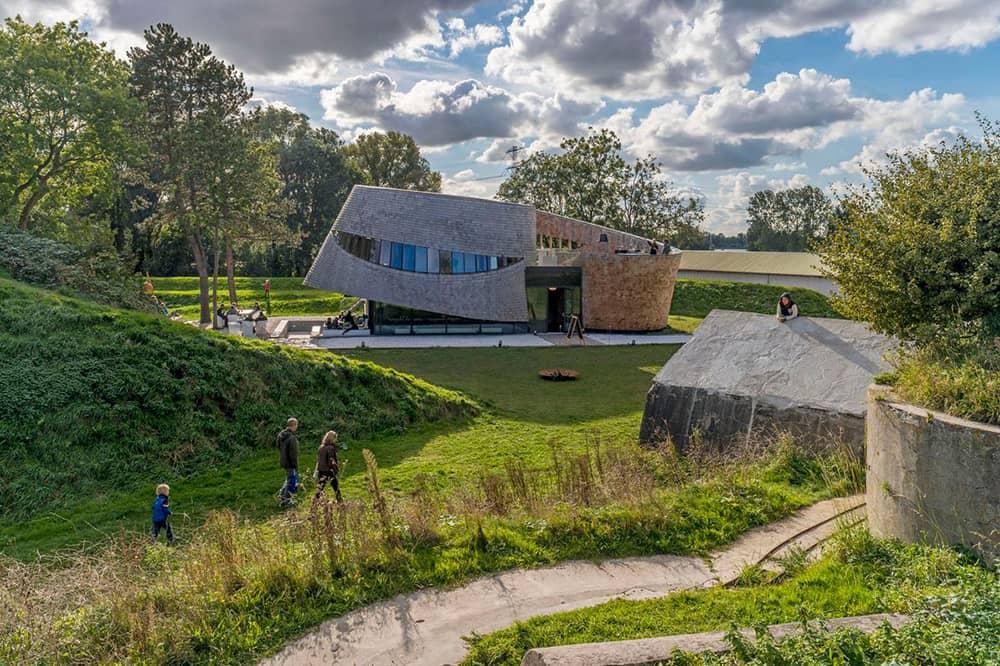 Paviljoen Puur bij Fort Diemerdam