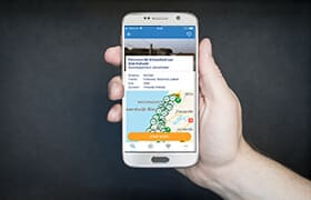 Fietsroute app android