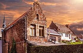 Fietsroute midden Limburg