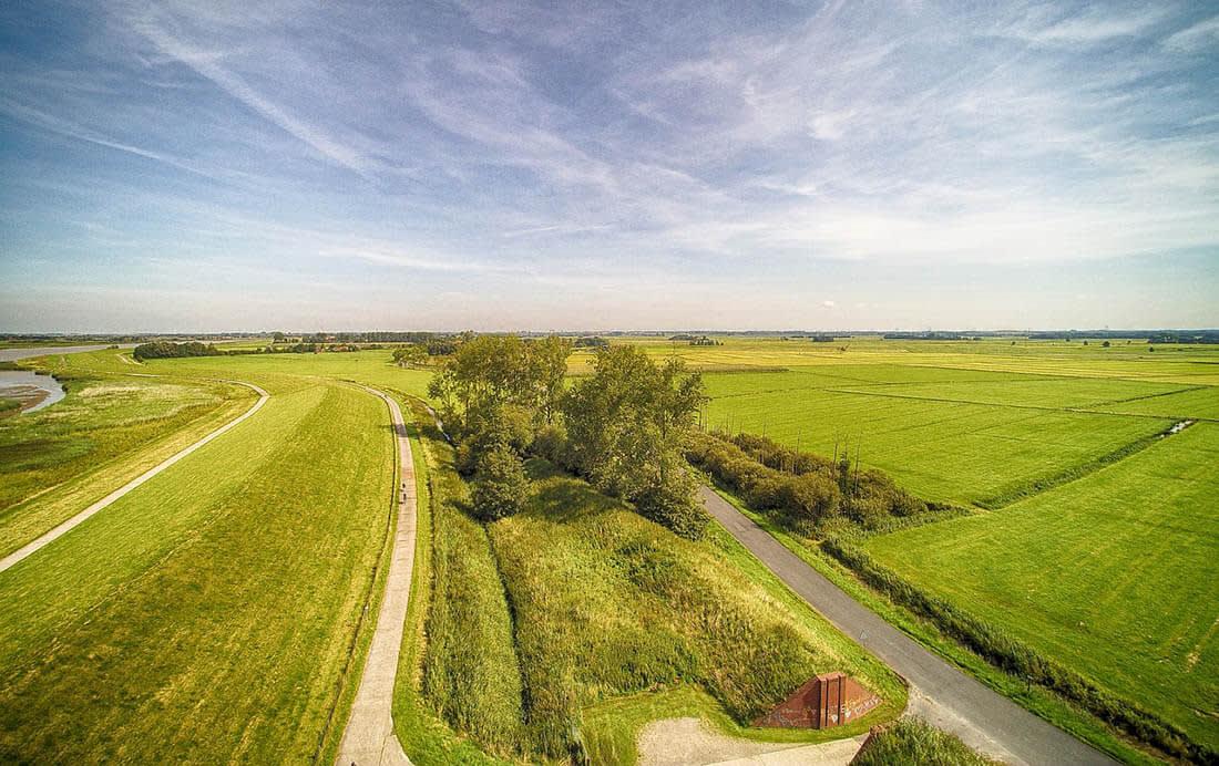 Fietsknooppunten Friesland