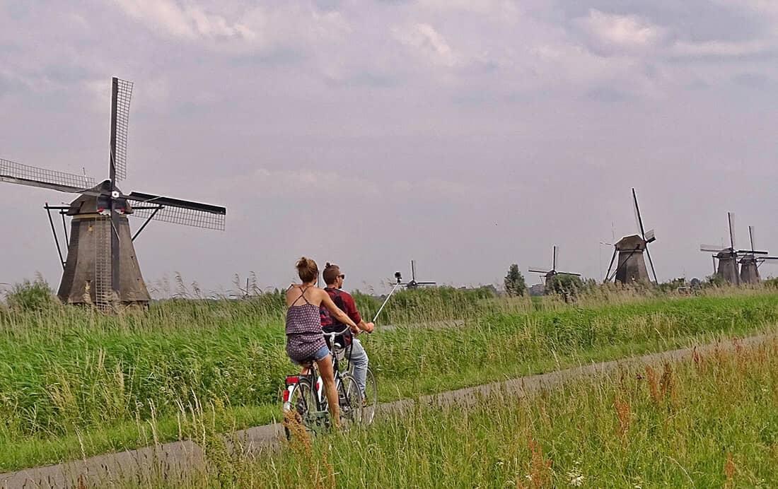 Het Hollands rivierengebied en het Hollands plassengebied op de fiets