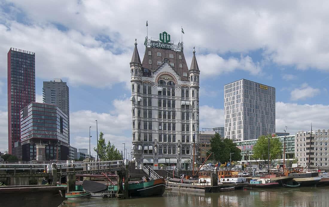 Het eiland Goeree-Overflakkee op de fiets en fietsen in en om Rotterdam