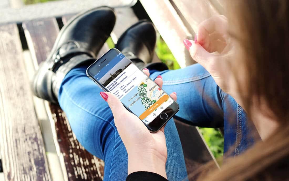 Fietsknooppunten App