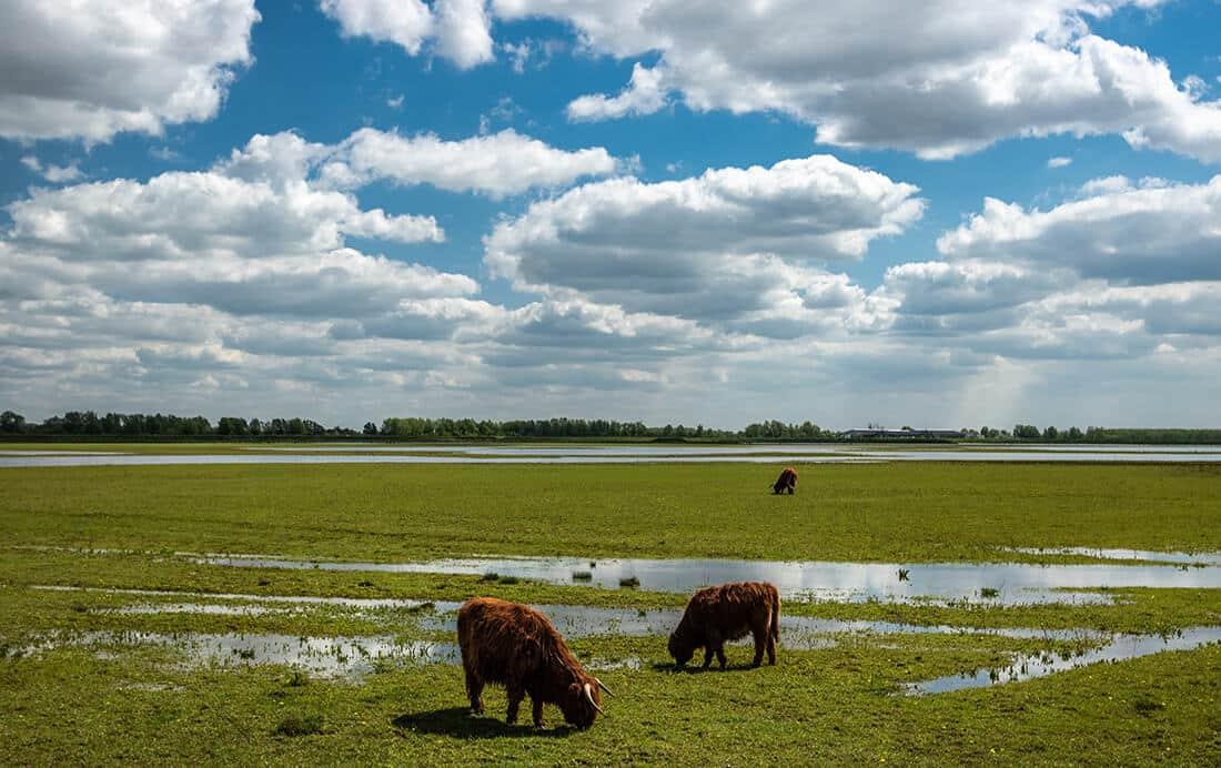 Routes in west- en midden Brabant