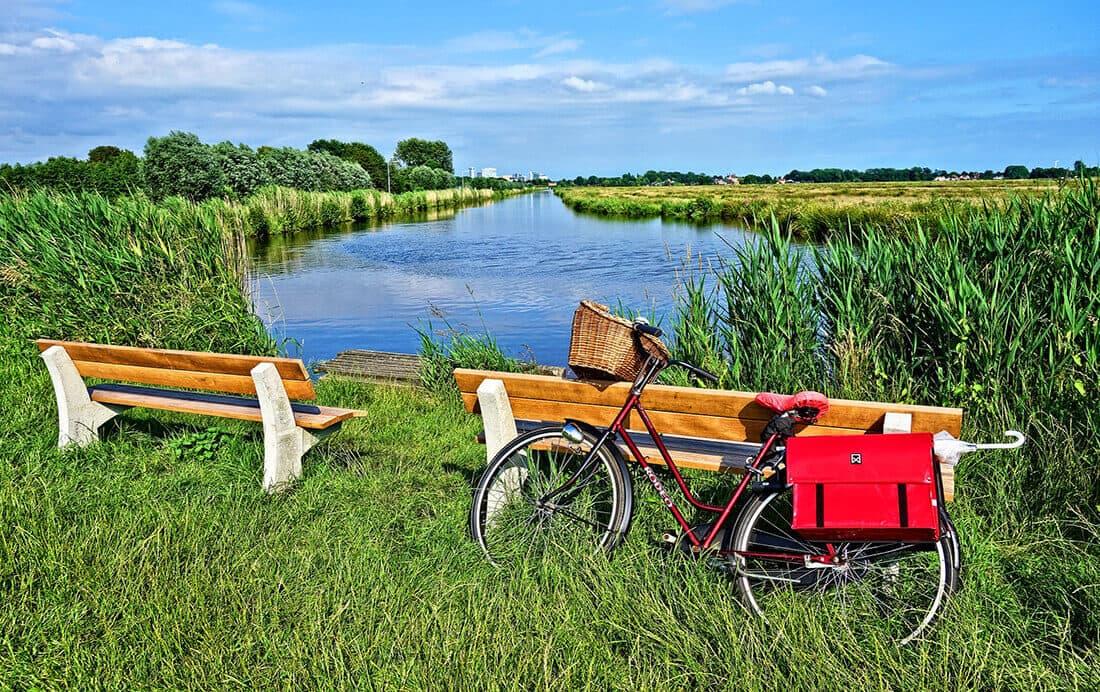 Fietsroutes Flevoland
