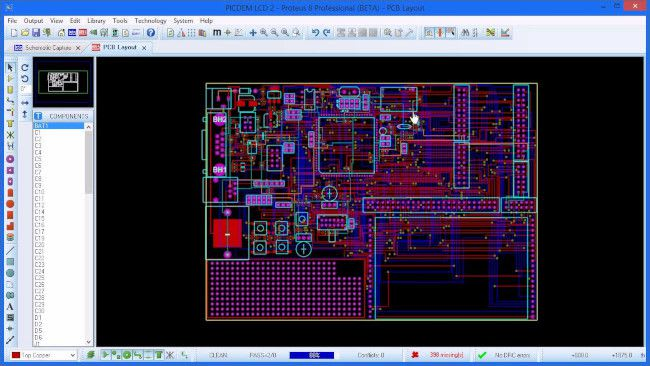 PCB Design & VSM Simulation Suite - Proteus
