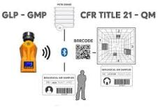 Location preset Barcode/ RFID tag (10xbox)  img