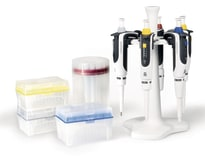 Transferpette® S package 1: 5 x pipettes (0.1-2.5 µl, 0.5-10 µl, 2-20 µl, 20-200 µl, 100-1000 µl), benchtop rack f. 6 pipettes img