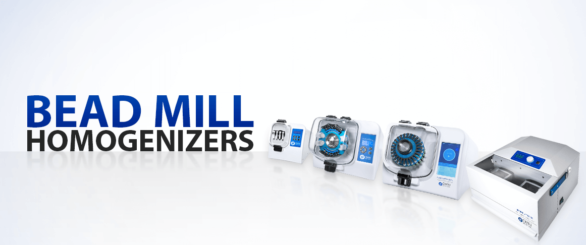 Bead Mill Homogenizers Banner