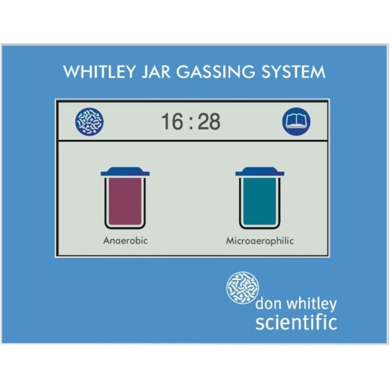 Whitley Jar Gassing System DWS.A05050 img