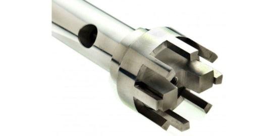 30 mm X 195 mm Flat Bottom (Coarse) Generator Probe OMN.150-30WA-195 img