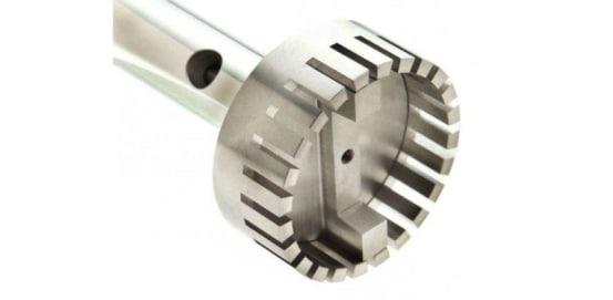 55 mm X 195 mm Flat Bottom (Fine) Generator Probe OMN.150-55NA-195 img