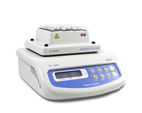 TS-100C, Thermo-Shaker with cooling for microtubes and PCR plates BSN.BS-010143-AAI img