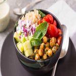 Chickpea Bowls with Tahini Sauce Recipe