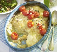 Fennel & potato gratin