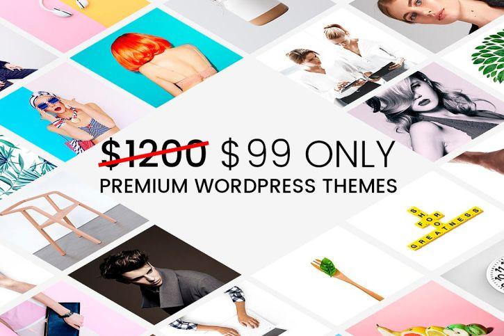 16 WordPress Themes - Mega Bundle