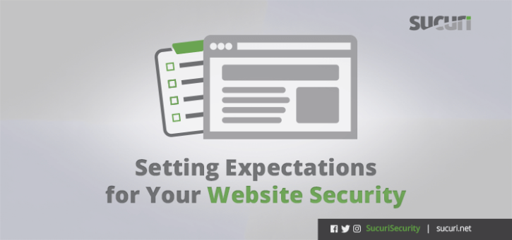 Setting Expectations For Your Website Security